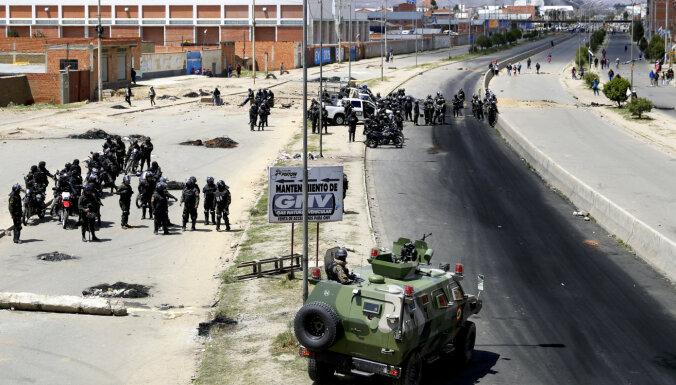 Bolīvijā amnestē par 2019. gada politisko vardarbību notiesātos