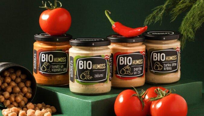 Bioloģiskās pārtikas zīmols 'Rūdolfs' paplašina sortimentu