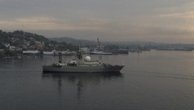 В США высмеяли появление российского разведывательного корабля у своих берегов