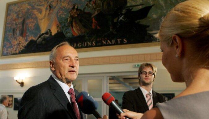 Андрис Берзиньш не хочет больше власти