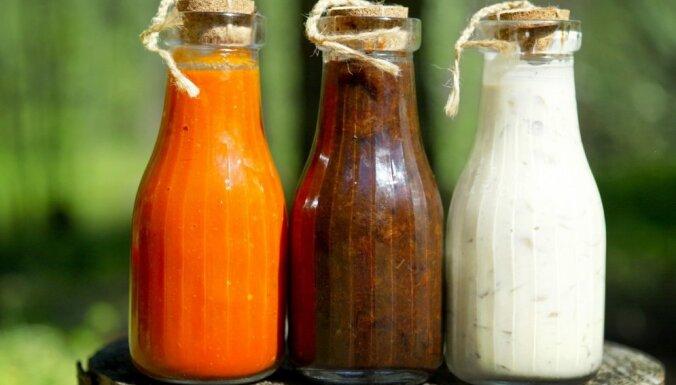 Astoņas mērces, kuru pagatavošanā vajadzīgas vien divas sastāvdaļas
