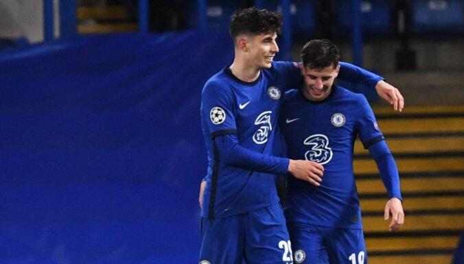 UEFA Čempionu līga: 'Chelsea' ar uzvaru pār 'Real' sagādā britu finālu