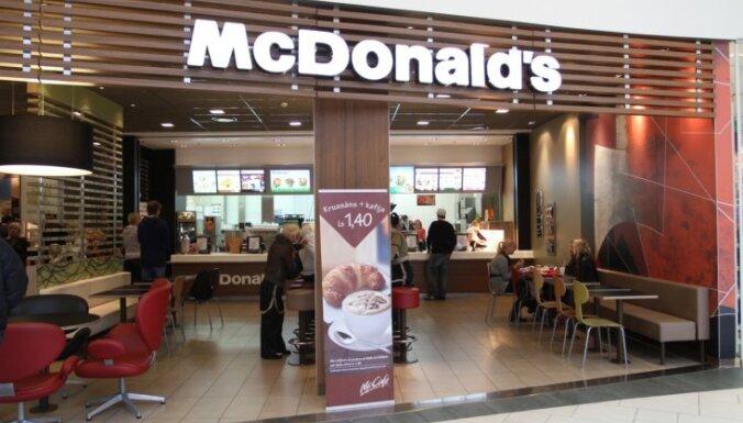 В латвийских McDonald's могут начать обслуживание клиентов за столиками
