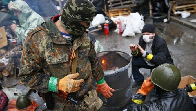 В центре Славянска расстреляно авто: двое убиты, один ранен
