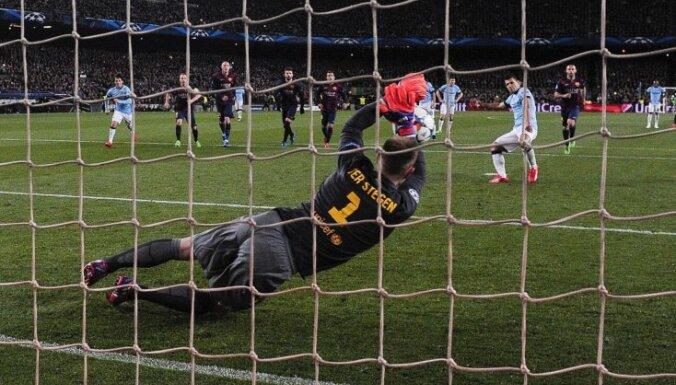 'FC Barcelona' vārtsargs ter Štegens sasniedzis nezaudēto spēļu rekordu