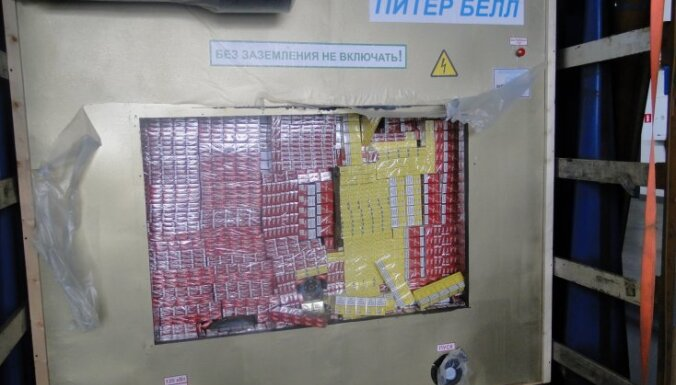 Предотвращена контрабанда 3,75 млн. сигарет