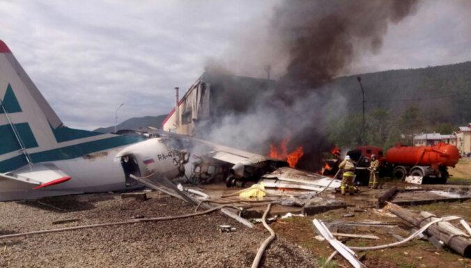 У разбившегося в Бурятии пассажирского самолета отказал двигатель