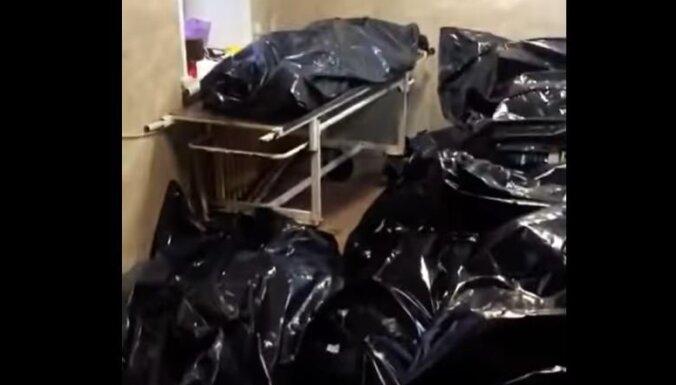 Video: Novokuzņeckas morgā vairs nav vietas Covid-19 upuru līķiem