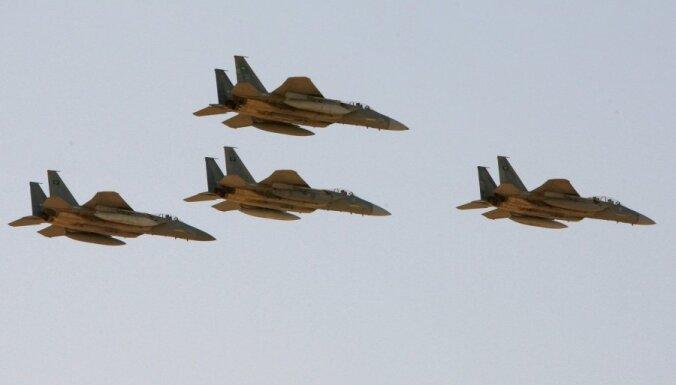 Saūda Arābijā noslīcis iznīcinātājs F-15