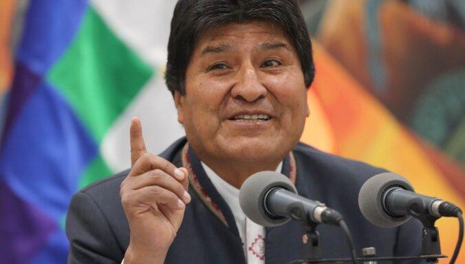 Все высшее руководство Боливии ушло в отставку