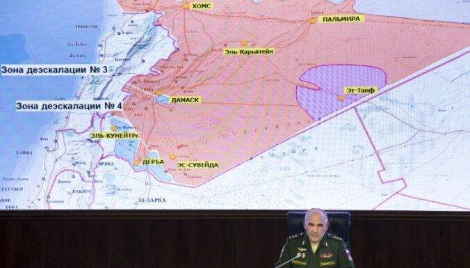 Krievija Sīrijas drošības zonā izvieto militāro policiju
