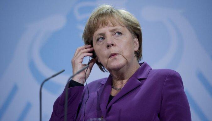 Merkele iebilst pret Katalonijas neatkarību