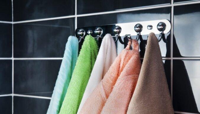 Piecas problēmas un risinājumi vannas dvieļu kopšanai
