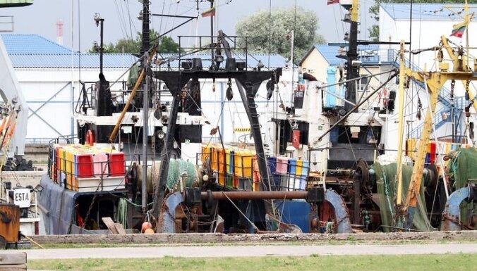 В Латвии рыболовецкие суда продолжают разрезать на металлолом