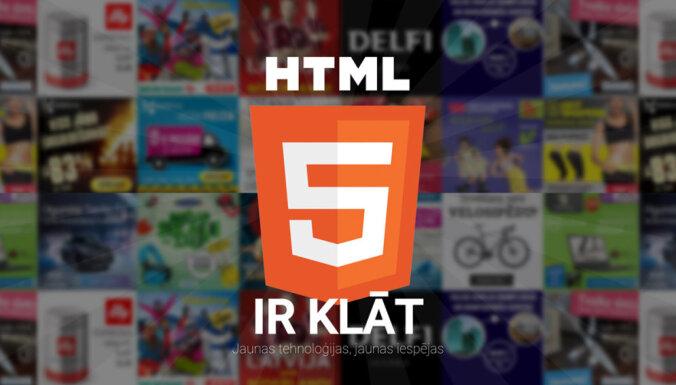 'Flash' baneru vietā HTML5 baneri - liels lēciens reklāmā