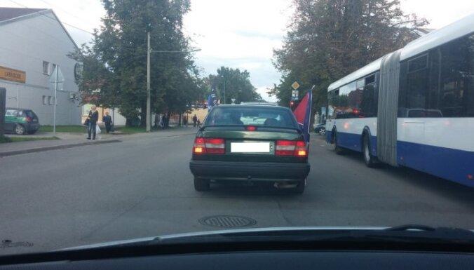 ПБ: использование флага ДНР в Риге — провокация