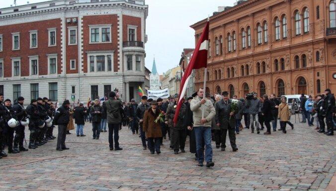 Leģionāru dienā pagaidām pasākumus pieteikuši tikai 'Daugavas vanagi Latvijā'