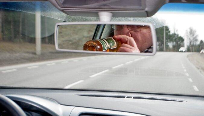 Полиция: количество пьяных водителей остается прежним