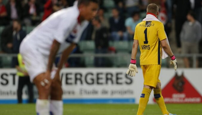 FC Sion, goalkeeper Andris Vanins