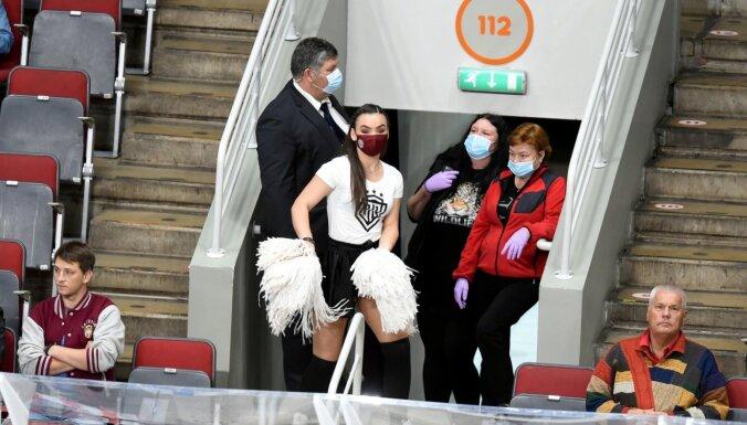 Rīgas 'Dinamo' spēles varēs apmeklēt tikai ar sejas maskām