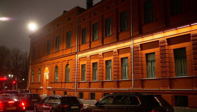 Pabeigta fasādes restaurācija Aizsardzības ministrijas ēku kompleksam Skolas ielā