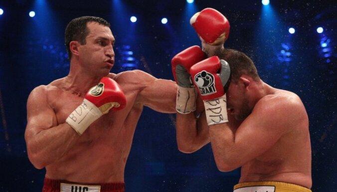Латвийский боксер: от Кличко годичной давности осталось 80 процентов