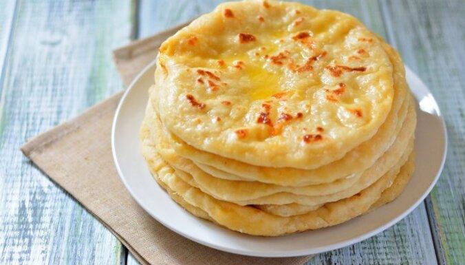Лепешки с сыром - хычины