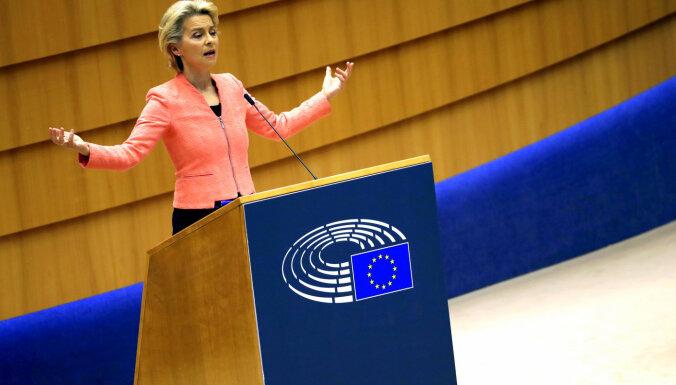 ES mēroga Magņicka akts un stingra nostāja pret Ķīnu un Baltkrieviju. Leiena par ES prioritātēm