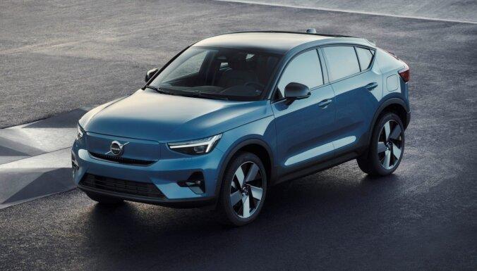 'Volvo' prezentējis elektrisko apvidus kupeju 'C40 Recharge'