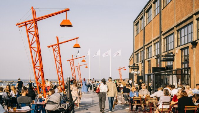Populāras Tallinas 'street food' vietas un 'food court'
