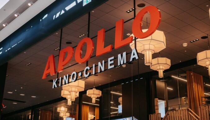 Ievērojot drošības pasākumus, 'Akropolē' durvis vērs 'Apollo Kino'