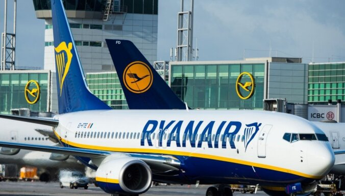 'Ryanair' apsteidz 'Lufthansa' un kļūst par Eiropas lielāko aviokompāniju