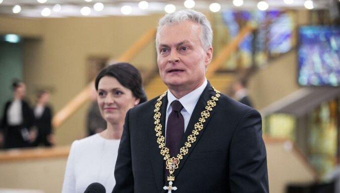 Foto: Lietuvā inaugurēts jaunais prezidents Nausēda