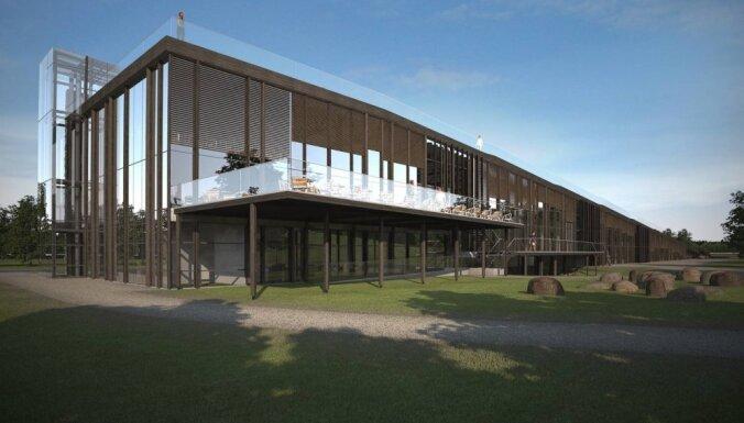 Foto: Kā izskatīsies Likteņdārza daudzfunkcionālā sabiedriskā ēka