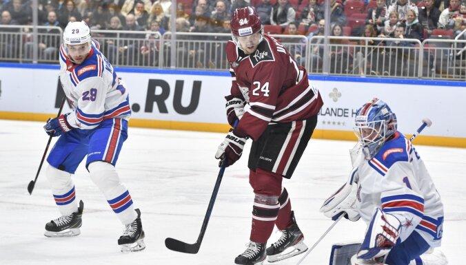 Rīgas 'Dinamo' ievieto Ulstrēmu atteikumu draftā