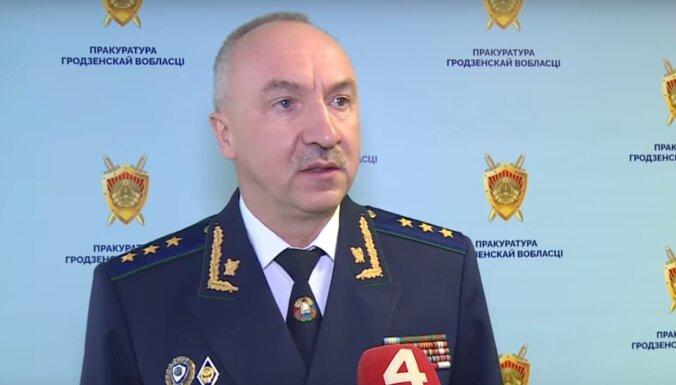 'Cukura lieta' Baltkrievijā: ģenerālprokurors paziņo par krāpnieciskām shēmām ar Krievijas partneriem
