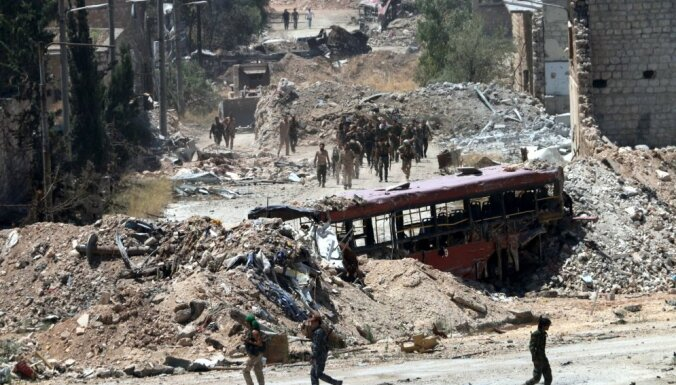 ANO aicina Sīrijas valdību tās kontrolē nodot Alepo humānos koridorus