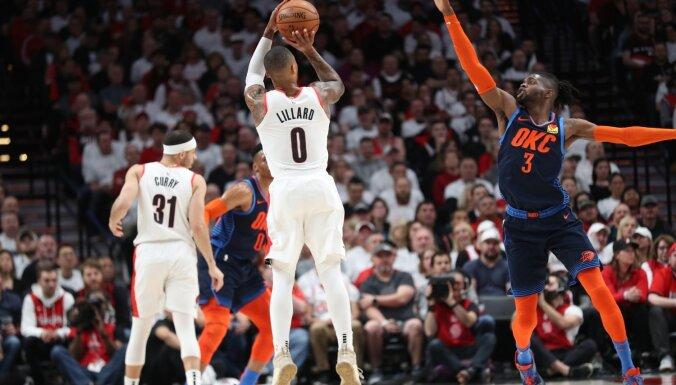 Bertāna konkurents NBA tālmetienu konkursā Lilards savainojuma dēļ izlaidīs Zvaigžņu spēli