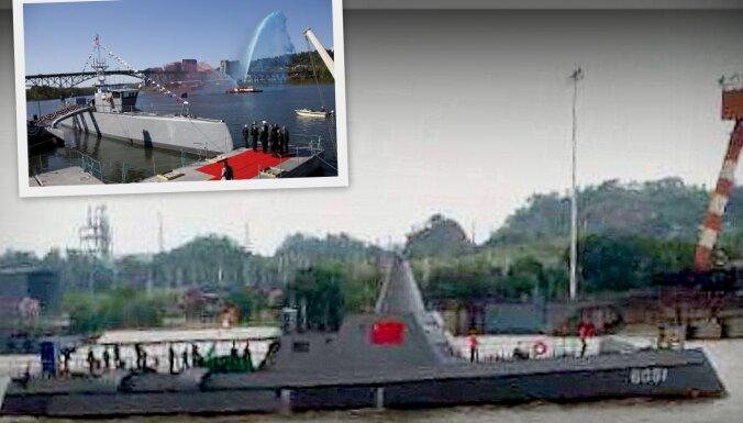 Ķīnieši nokopējuši ASV bezpilota kuģi 'Sea Hunter', vēsta institūts