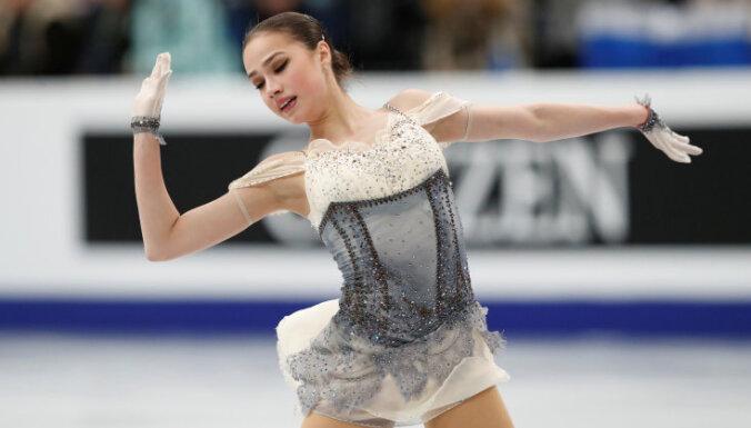 Загитова выиграла короткую программу на чемпионате Европы, Юбкане — предпоследняя