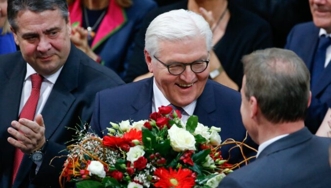 Франк-Вальтер Штайнмайер избран новым президентом ФРГ