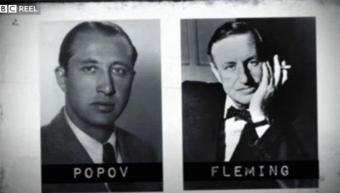 Džeimsa Bonda prototips – serbu uzdzīvotājs un dubultspiegs Popovs