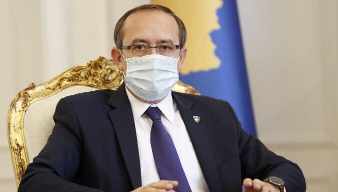 Kosovas premjeram pozitīvs Covid-19 tests