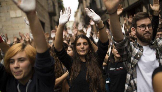 Каталонский город запретил въезд королю Испании