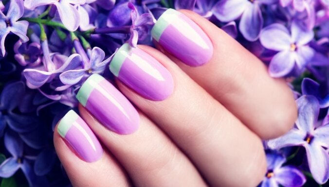 Iedvesmai: pavasara modes vēsmas manikīra pasaulē