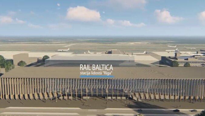 'Rail Baltica' infrastruktūras izbūvei lidostas 'Rīga' apkaimē plāno izzāģēt 410 kokus