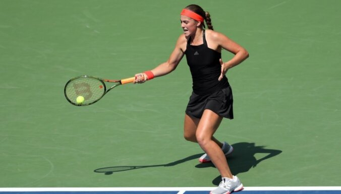 Севастова вышла в третий круг турнира в Майами, Остапенко и Гулбис проиграли