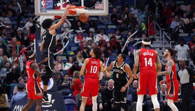 NBA spēlētāji saņems algas vismaz līdz 1. aprīlim
