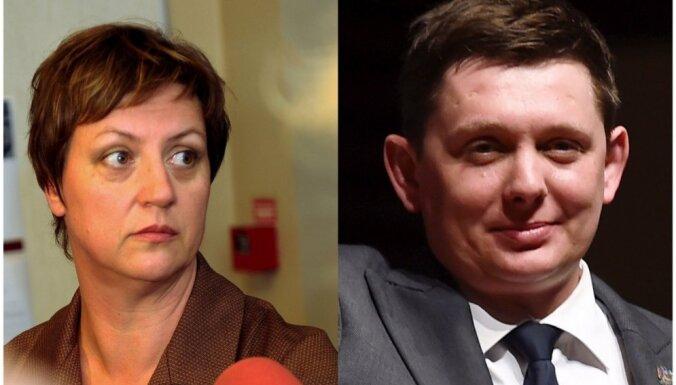 Koļegova: nofilmējot sarunu, deputāts Kaimiņš pārkāpis likumu