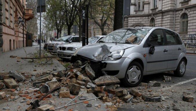 Zagrebai 22. marta zemestrīce nodarījusi postījumus 5,5 miljardu eiro apmērā
